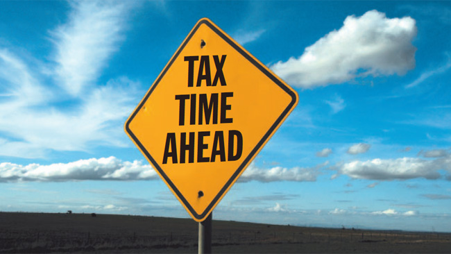 Let Us help with the  tax retun